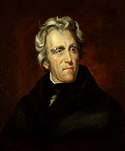 Portrait of Andrew Jackson (click to view image source)