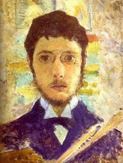 Portrait of Pierre Bonnard  (click to view image source)