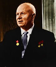 Portrait of Nikita Khruschev (click to view image source)