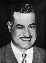 Portrait of Abdal Gamal Nasser (click to view image source)