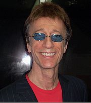 Portrait of Robin Gibb (click to view image source)