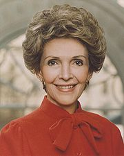Portrait of Nancy Reagan (click to view image source)