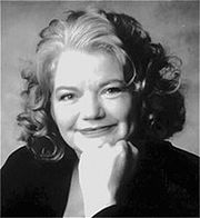 Portrait of Molly Ivins (click to view image source)