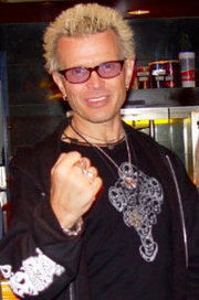 Portrait of Billy Idol (click to view image source)